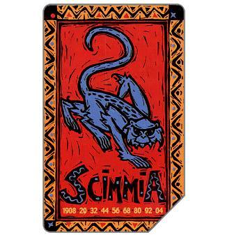 Phonecard for sale: Zodiaco Cinese, Scimmia, 30.06.2003, L.5000