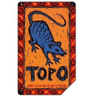 Phonecard for sale: Zodiaco Cinese, Topo, 30.06.2003, L.5000