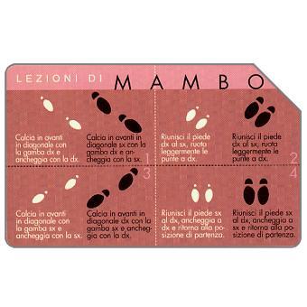 Phonecard for sale: Lezioni di mambo, 30.06.2003, L.10000