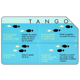 Phonecard for sale: Lezioni di tango, 30.06.2003, L.5000