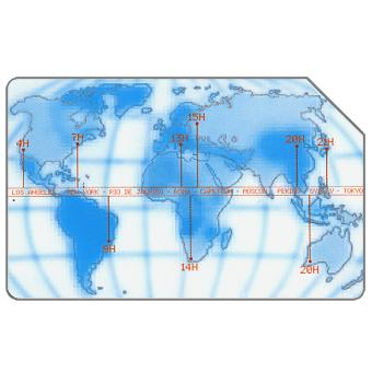 Phonecard for sale: Time Zones, 30.06.2003, L.10000
