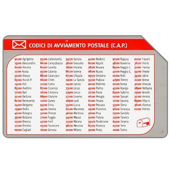 Phonecard for sale: Codici di Avviamento Postale, 30.06.2003, L.5000