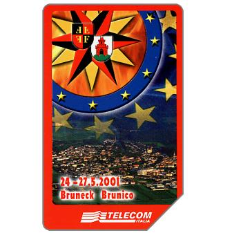 Phonecard for sale: XIV Raduno dei Vigili del Fuoco, Alto Adige, 30.06.2003, L.10000
