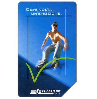 Phonecard for sale: Sport & Motion, 31.12.2003, L.5000
