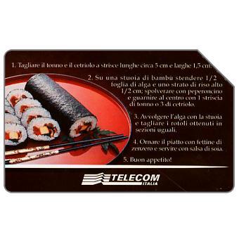 Phonecard for sale: Sushi à la carte, 31.12.2003, L.5000