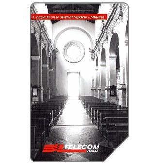 The Phonecard Shop: Il culto dell'arte, Siracusa, 30.06.2004, € 2,50