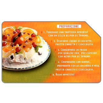 Phonecard for sale: Cassata Siciliana, 30.06.2004, € 5,00