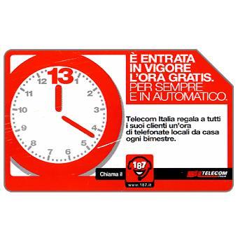 Phonecard for sale: L'ora gratis, 30.06.2004, € 2,50