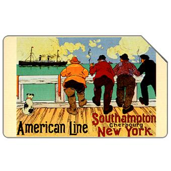 Phonecard for sale: American Line, 31.12.2004, € 2,50