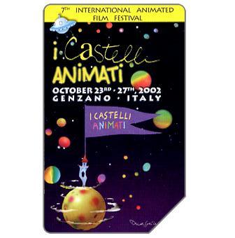 Phonecard for sale: I Castelli Animati, 31.12.2004, € 2,50