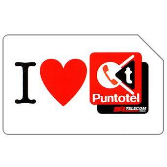 Phonecard for sale: I love Puntotel, 31.12.2004, € 2,50