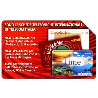 Phonecard for sale: Sono tre, 31.12.2004, € 2,50