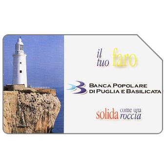Phonecard for sale: Banca Popolare di Puglia e Basilicata, 31.12.2003, € 3,00