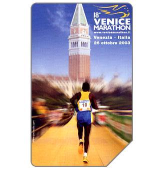 Phonecard for sale: 18a Venice Marathon, 30.06.2004, € 3,00