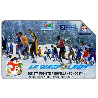 Phonecard for sale: La Ciaspolada, 30.06.2004, € 3,00