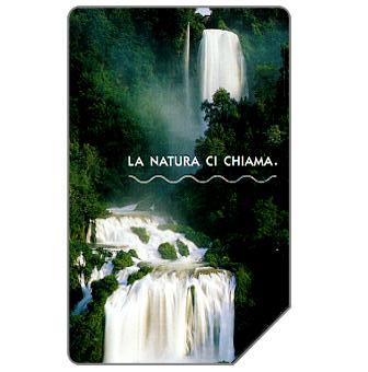 Phonecard for sale: La natura ci chiama, La cascata delle Marmore, 31.12.2004, € 5,00
