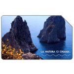 The Phonecard Shop: La natura ci chiama, I Faraglioni di Capri, 31.12.2004, € 2,50