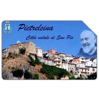 Phonecard for sale: Pietrelcina città natale di San Pio, 30.06.2005, € 5,00