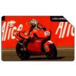 The Phonecard Shop: Ducati Moto GP, Loris Capirossi, 31.12.2006, € 5,00