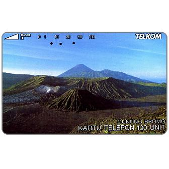 Phonecard for sale: Telkom - Mount Bromo, 100 units
