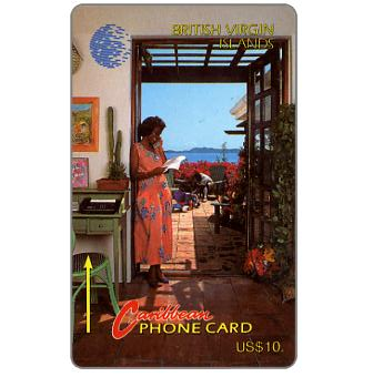 Phonecard for sale: Woman on phone, 10CBVA, US$10