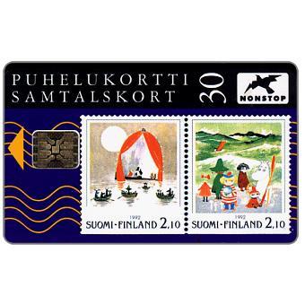 Tele - Moomins stamps, 30 mk
