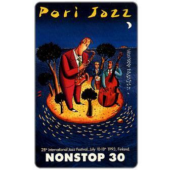 Phonecard for sale: Tele - Pori Jazz 1993, 30 mk