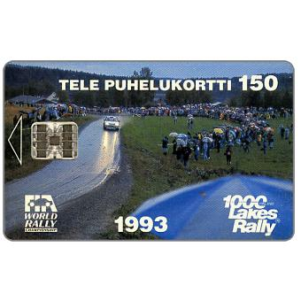 Phonecard for sale: Tele - 1000 Lakes Rally, 150 mk