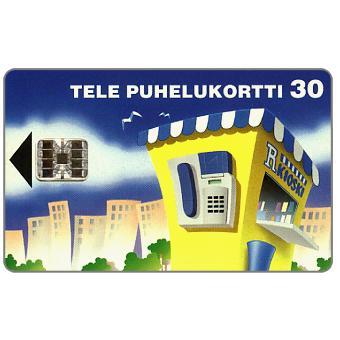 Phonecard for sale: Tele - R-kioski, 30 mk