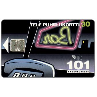Phonecard for sale: Tele - 101 Trunk calls, 30 mk
