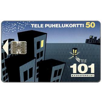 Phonecard for sale: Tele - 101 Trunk calls, 50 mk