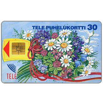 Phonecard for sale: Tele - Bouquet, 30 mk