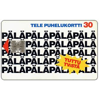 Phonecard for sale: Tele - Palapala, 30 mk