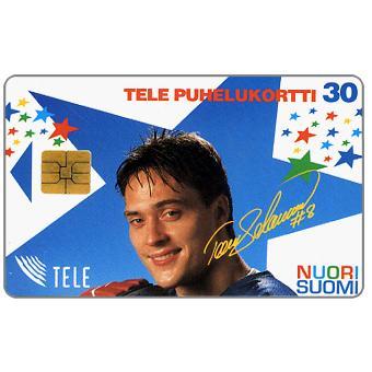 Phonecard for sale: Tele - Nuori Suomi, Teemu Selanne, 30 mk