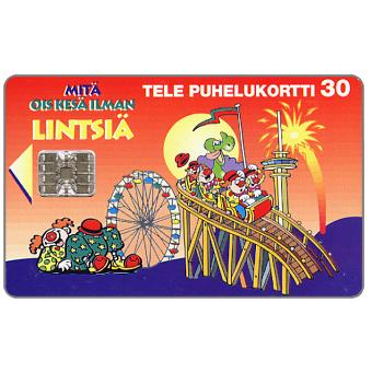 Phonecard for sale: Tele - Lintsia Amusement Park, 30 mk