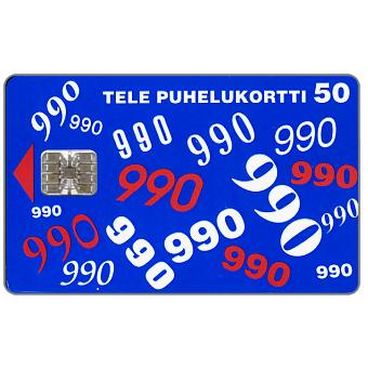 Tele - 990, 50 mk