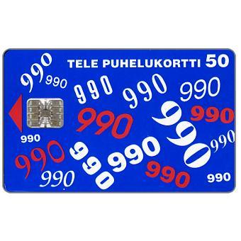 Phonecard for sale: Tele - 990, 50 mk
