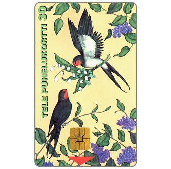 Phonecard for sale: Tele - Congratulatory card, 30 mk