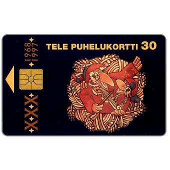 Phonecard for sale: Tele - Folk music Festival 97, 30 mk