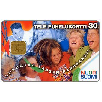 Phonecard for sale: Tele - Nuori Suomi, girls, 30 mk