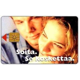 Phonecard for sale: HPY - Boy & girl, 30 mk