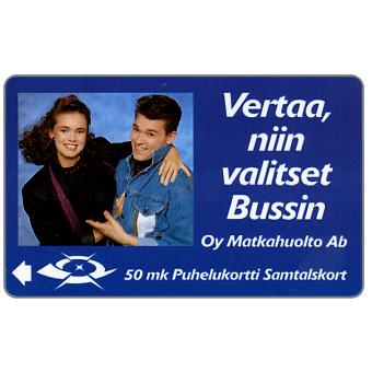 Tele - Oy Matkahuolto Ab, 2FINA, 50 mk