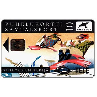 Phonecard for sale: Tele - Flying phones, 10 mk