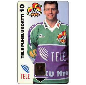 Phonecard for sale: Tele - Ice-Hockey Team Jokerit, 10 mk
