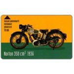 The Phonecard Shop: Turku - Motorcycle Norton 350cc 1936, 10 mk
