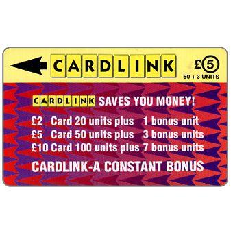 Cardlink - Arrowhead design, £5