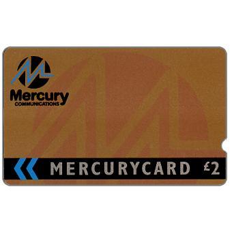 Mercury - Corporate bronze, deep notch, £2