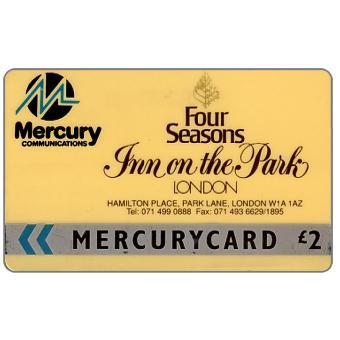 Mercury - Inn on the Park (071 Phone No.), £2