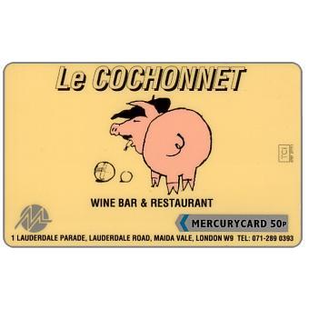 Mercury - Le Cochonnet, 50p