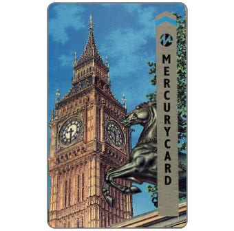 Mercury - Big Ben, London, 50p